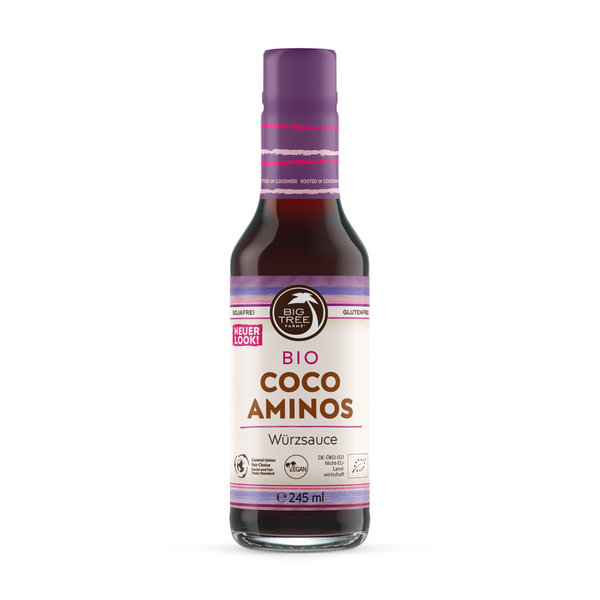 Big Tree Coco-Aminos Würzsauce Glasflasche 245 ml
